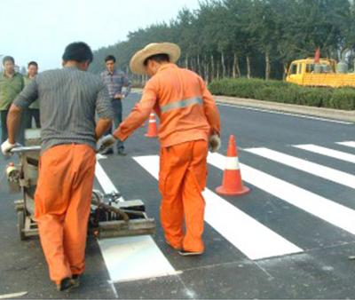 天津道路标线施工