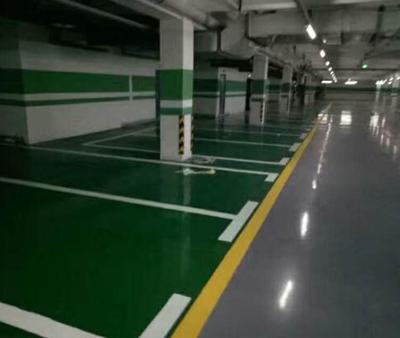 地下停车场标线